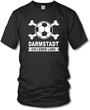 EIN Leben Lang 3XL Gr/ö/ße S Fan T-Shirt SANDHAUSEN shirtloge