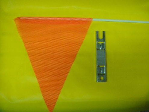 GO CART SAFETY FLAG 3 ' TALL