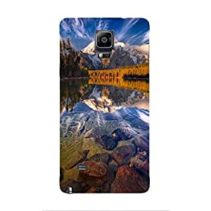 Cover It Up - Mirror Lake Galaxy note Edge Hard Case