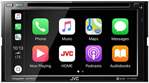 JVC KW-V850BT Compatible with Android Auto Apple CarPlay CD DVD Stereo Bluetooth