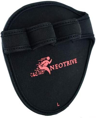 Neotrive Fitness Griffpolster Griffpads Handpolster Gloves F/ür Krafttraining Bodybuilding Gym f/ür Damen /& Herren