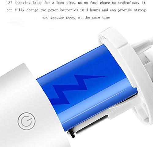 Yao rack Aspirateur sans Fil, 35W USB de Charge Aspirateur de Voiture avec Vide Wet & Dry Poids léger La Puissance d\'aspiration pour la Voiture et Le Bureau d\'accueil pour Animaux