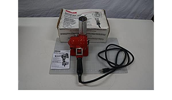 Master Appliance HG-751B Master Heat Gun, 750 Degree F - 1, 000 Degree F, 120V: Amazon.com: Industrial & Scientific