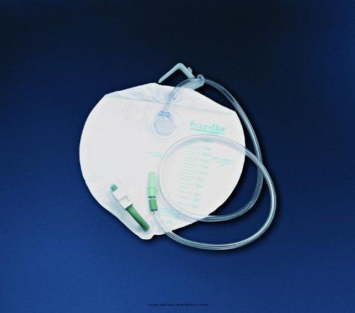 Single Hook Bag Drainage Bedside (Bardia Closed System Drain Bag, Drnbag Bedside 2000cc, (1 CASE, 20 EACH))