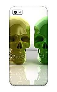 diy phone caseIphone Case - Tpu Case Protective For ipod touch 5- Masks Shaped Skull Colorfuldiy phone case