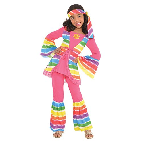 amscan Greaser Girl 50S Costume - Medium (8-10), Multicolor]()