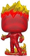Funko- Pop Bobble Vinyle: Marvel: 80th-First Appearance-Human Torch Figura Coleccionable, Multicolor (42653)