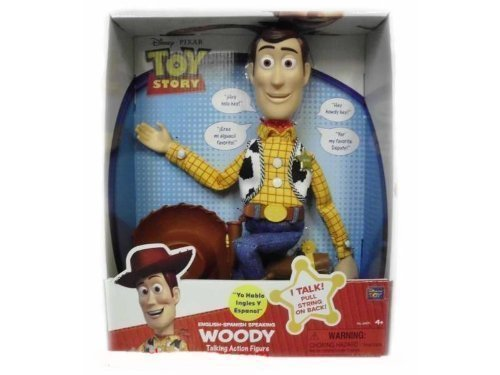 Woody Toy Story 3 Games : Toy story playtime sheriff talking woody english spanish