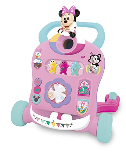 Kiddieland Toys Limited Minnie Mouse & Friends Activity Walker Baby Infant Toy, 18.5 X 16.75 X 16.75, (Baby Walker Minnie Mouse)