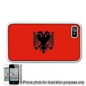 Albania Albanian Flag Apple Iphone 5s Case Cover White