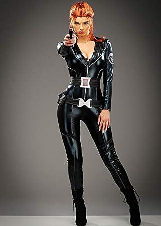 Magic Box Traje de la Viuda Negra de la Mujer Adulta XS (UK6-8 ...