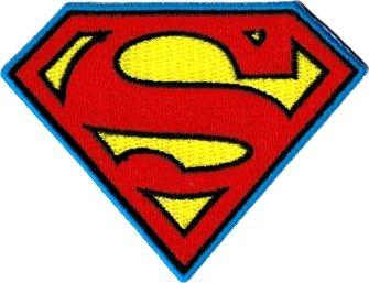 (DC Comics Superman Logo Patch)