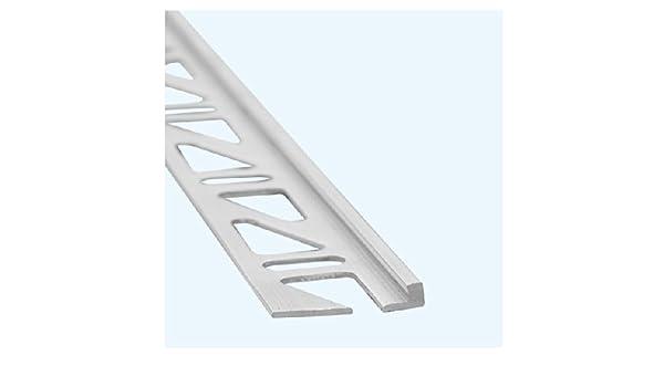Perfil de acabado, aluminio, altura: 18 mm: Amazon.es: Hogar