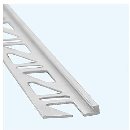 Profilo di finitura per piastrelle, (alluminio), Altezza: 10 ...
