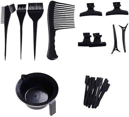 23 piezas de tinte para el cabello DIY Kit de herramientas de ...