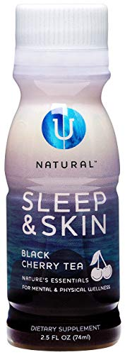 Bedtime Sleeping Aid and Skin Care Tea by NATURAL Tea | A Light, Healthy Sleep Inducing Tea for Night Time | Calming Antioxidants for Balancing Clear Skin | Pineapple Coconut + Black Cherry Flavors