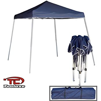 tooluxe 61648l portable sun shade pop up canopy vinyl 1piece instant setup