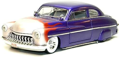 "#7123 Ertl American Muscle '49 Merc ""Lead Sled"", Purple with Flames 1/18 Scale Diecast 41HiJCPmXTL"