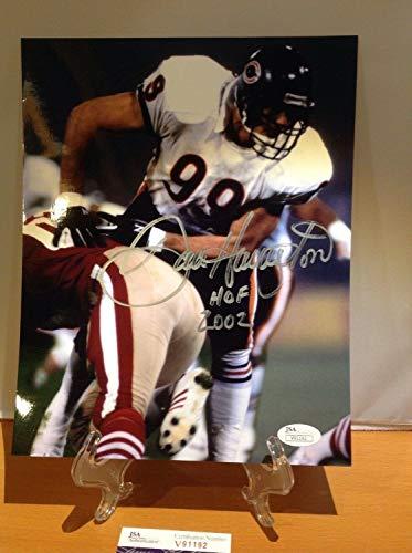 Hof Football Dan Hampton Autographed Signed Memorabilia 8x10 JSA Certified