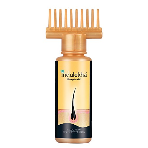 Indulekha Bringha Hair Oil Selfie Bottle, 50 ml
