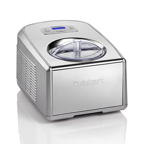Cuisinart Ice Cream and Gelato Maker | Makes Ice Cream, Gelato, Sorbet, Frozen Yoghurt | Stainless Steel | ICE100BCU
