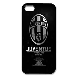UEFA Champions League Juventus Logo FC Image Snap On Hard Plastic Iphone 5 5S Case