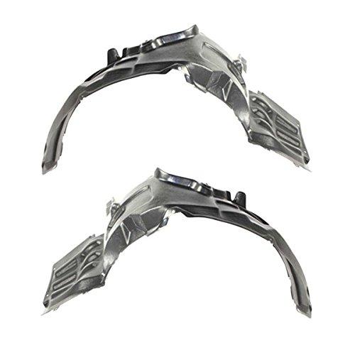 Koolzap For 07-12 Eclipse Front Splash Shield Inner Fender Liner Panel Left & Right SET PAIR