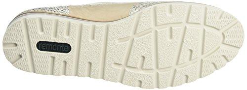 Beige 40 R1901 Femme Ice Marble Beige Remonte Brogues wa70q7I