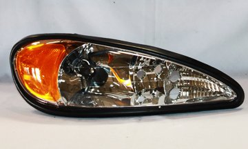 TYC 20-5539-00-1 Pontiac Grand Am Right Replacement Head Lamp