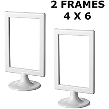 ikea photo frame tolsby white 4 x 6 2 pack each frame holds 2 pictures