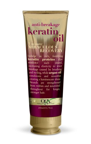OGX Anti-Breakage Keratin Oil 3 minute Miraculous Recovery,