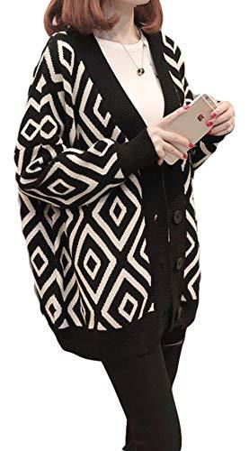 MLbossニット カーディガン 長袖 ゆったり レディース ニットセーター 韓国ファッション アウター 原宿風 おしゃれ トップス 秋服