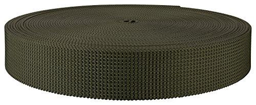 1 3/4 Inch Olive Drab Green Scuba Or Duty Belt Webbing Closeout, 10 Yards