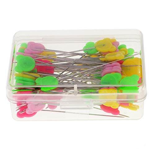 Boxed 80 Patchwork Pins Straight Pins DIY Quilting Craft Tool Sewing Accessories (Eye Shape - - Boxed Military Cards
