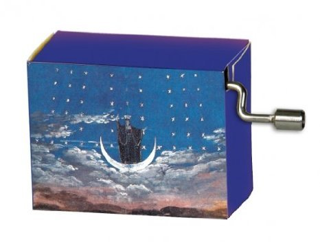 Hand Crank Music Box, Mozart The Magic Flute Opera Music Box - The Bird Catcher