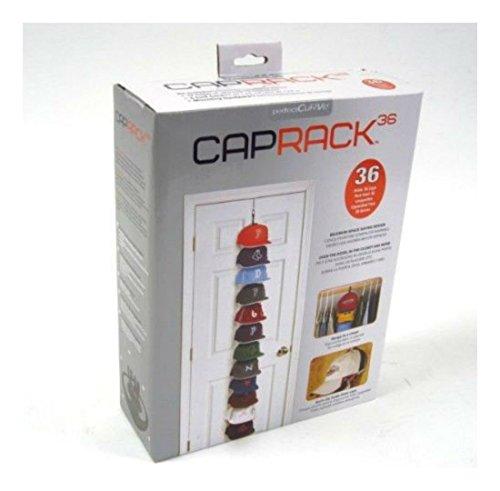 36 Baseball Hat Holder Organizer Storage Hook Closet Wall Door Cap Rack Household Materials