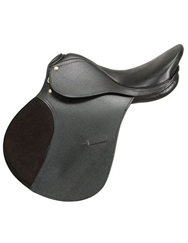 SilverFox All Purpose Pad Flap Saddle 16 Black