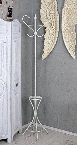 Appendiabiti Shabby.Coat Rack Shabby Chic Wardrobe Stand White Palazzo Exclusive Amazon