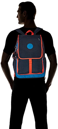 Orange Backpack Kipling HARUKO Blue Blue HARUKO Orange Large Backpack Blue Bl Kipling Large wqwnSv8C