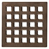USG Durock Shower System- Pro Series Grate- 4'' Professional Grate Oil Rubbed Bronze