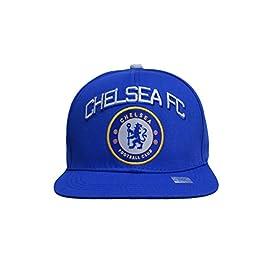 Chelsea Fc Snapback Adjustable Cap Hat – White – Blue New Season