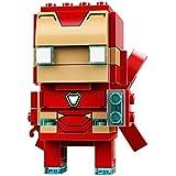 乐高 LEGO BrickHea大头方头仔 拼插积木 玩具 10岁+ 2018NEW 钢铁侠MK50 41604