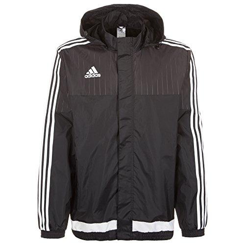 adidas Herren Jacke/Anoraks Tiro15 rn jkt, schwarz/Weiß, L, M64000