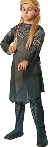 The Hobbit: Desolation of Smaug, Child Legolas Costume, Medium - Medium One Color (Legolas Child)