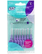 TePe Interdental Brushes 1.1mm Purple - 1 Packets of 8 (8 Brushes) by TePe