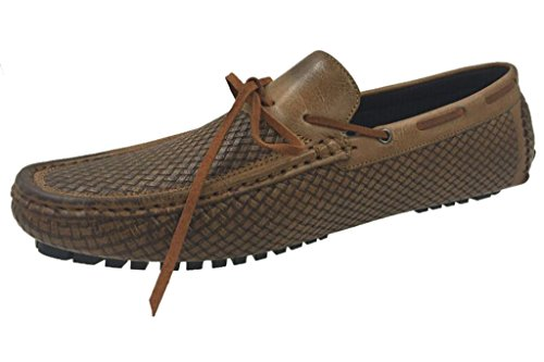 Andrew Fezza Af-1959 Mocassino Mocassino Slip-on In Pizzo Con Pizzo