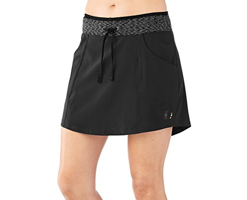 (SmartWool Women's Electra Lake Sport Skirt Black Small)