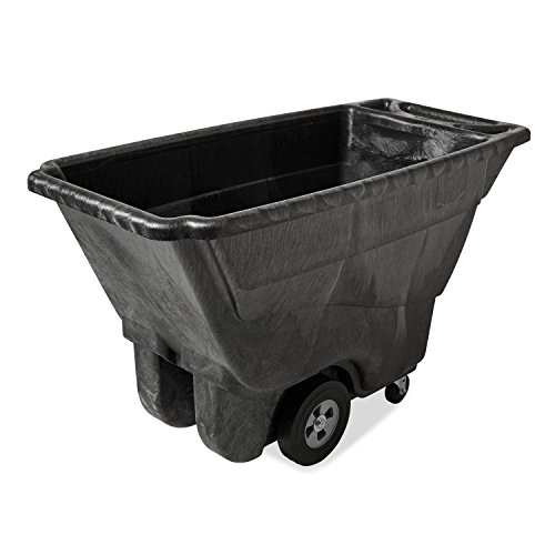Rubbermaid Commercial FG9T1400BLA Structural Foam Dump Truck, Black, 850-Pound Load Capacity, Black by Rubbermaid Commercial Products