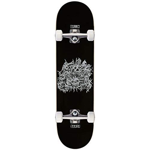 "Baker Dollin Metal Skateboard Complete - 8.00"""