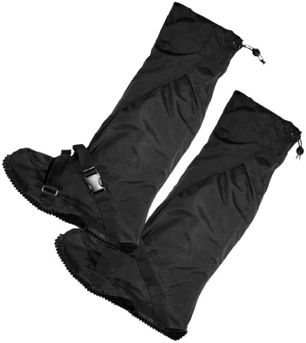 Frogg Toggs Over-Boot Leggings Black Medium/Large M/L, Outdoor Stuffs
